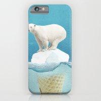 iPhone & iPod Case featuring Polar ice cream cap by vin zzep