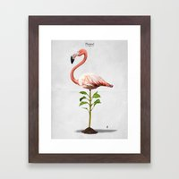 Planted Framed Art Print