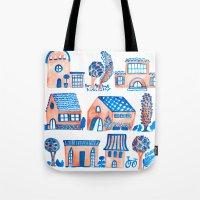 Quaint Village Tote Bag