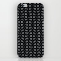 Black Criss Cross iPhone & iPod Skin