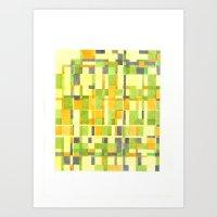 color field_01 Art Print