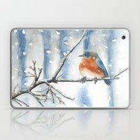 Little Bird In The Snow Laptop & iPad Skin