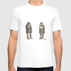 Mummies SMALL Mens Fitted Tee White