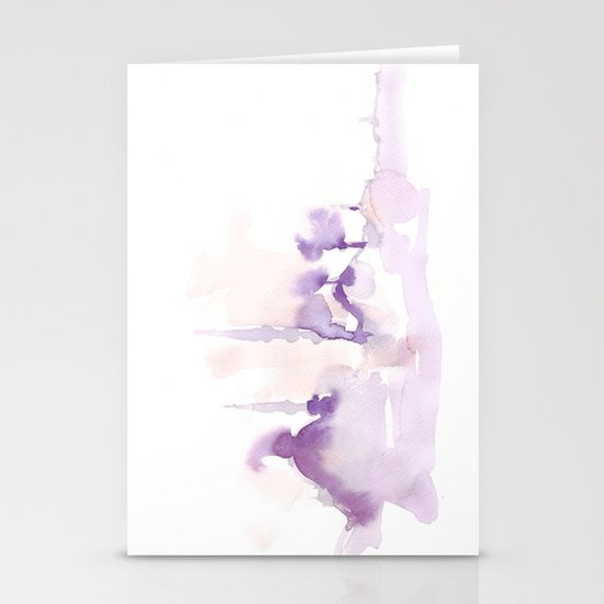 Watercolor landscape illustration_Istanbul Stationery Card