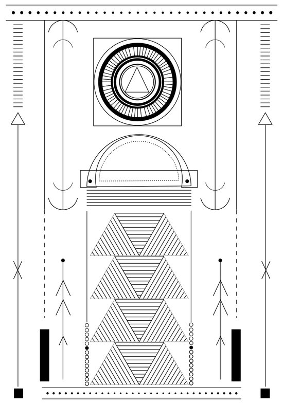 cirquit blank Art Print