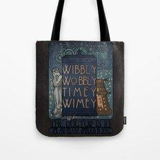 Art Nouveau TARDIS Tote Bag