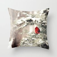 View The Snowfall, Cardi… Throw Pillow