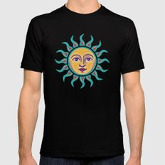 Soleil 2 Mens Fitted Tee Black SMALL