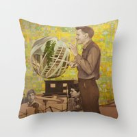 Somewhen In Time Throw Pillow