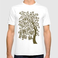 The Fruit Of The Spirit … Mens Fitted Tee White SMALL