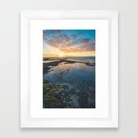 Big Island Sunset Framed Art Print