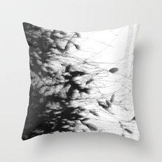 Dark Rain Throw Pillow
