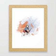 henon adventure Framed Art Print