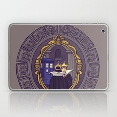 Mirror Mirror on the Wall...Who's the Doctor Come to Call? Laptop & iPad Skin