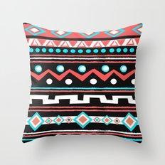 BLACK TIPI Throw Pillow