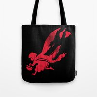 Little Red Hood Tote Bag