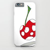 """iPhone & iPod Case featuring """"Cherry on Top"""" by Holly Lynn Clark"""