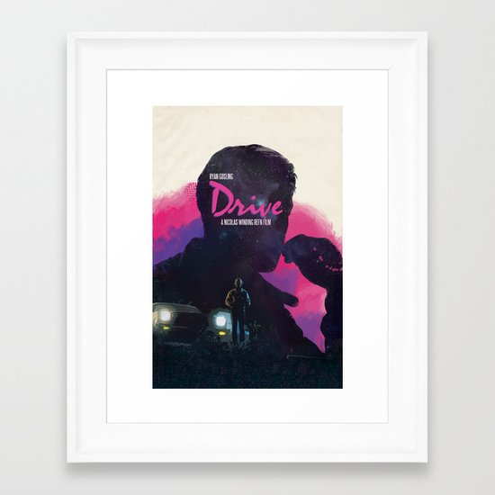 Drive II Framed Art Print