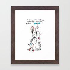 little ones Framed Art Print