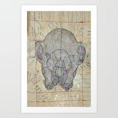 Mind Over Matter B Art Print