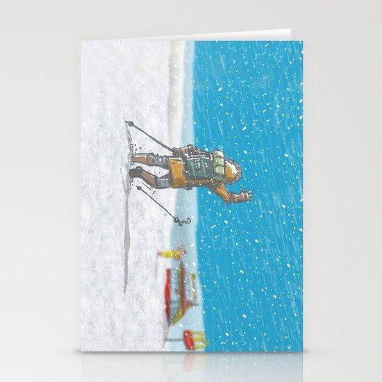 Freeze Stationery Card