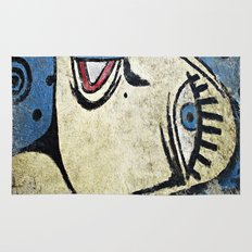 Big Blue Eye Rug