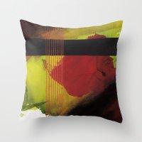 greenblack Throw Pillow