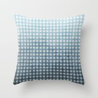 Ocean - Textured Pattern Throw Pillow
