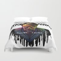 Famous Last Words Duvet Cover