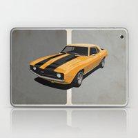 Camaro- Yellow Laptop & iPad Skin