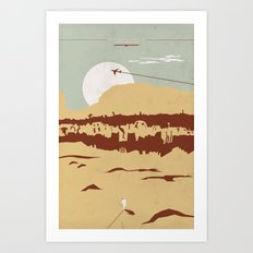 Uncharted Art Print