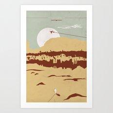 Uncharted Art Print
