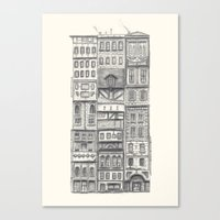 Crowded #2 Canvas Print