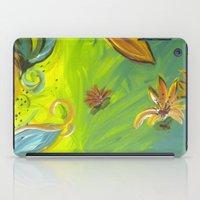 Tropical Flowers iPad Case