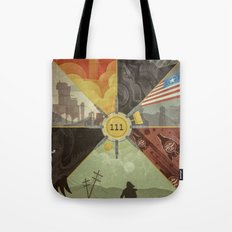 War Never Changes Tote Bag