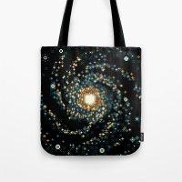Pinwheel Galaxy M101 (8b… Tote Bag