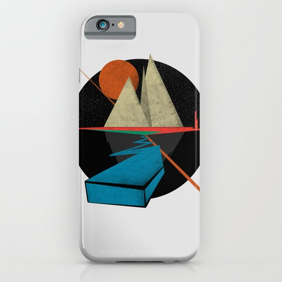 Mountain & Stars iPhone & iPod Case