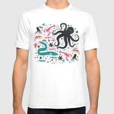 Sea Patrol SMALL Mens Fitted Tee White