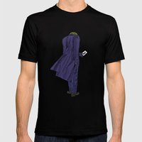 Why So Serious? Mens Fitted Tee Black SMALL