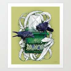 Poison Print Art Print