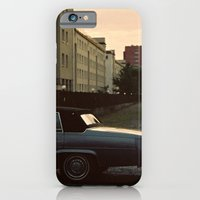 car iPhone & iPod Cases featuring car by Martyna Syrek