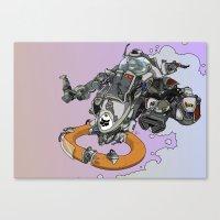 Cloud Ship. Canvas Print