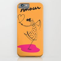 """iPhone & iPod Case featuring The Ink - """"Amour"""" by Torso Vertical, Illustration and Design"""