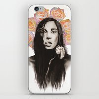 Natalia iPhone & iPod Skin