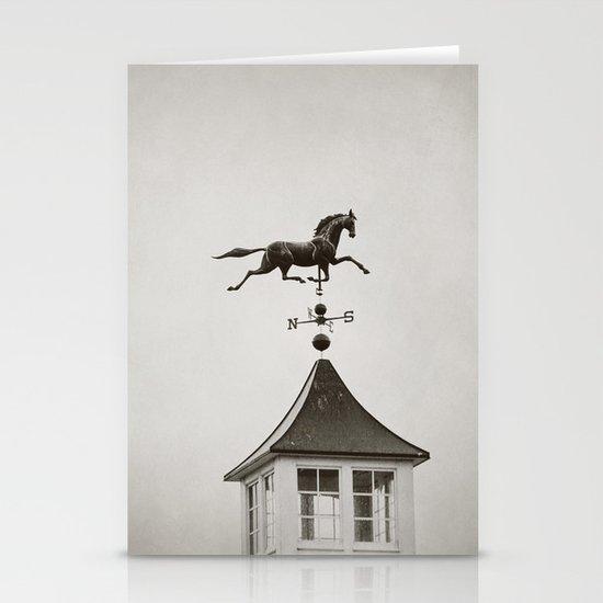 Horse Weathervane Stationery Card
