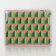 Fake 3D triangles Laptop & iPad Skin