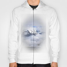 Looking down on the clouds Hoody
