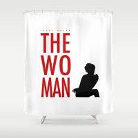 Irene Adler, The Woman - Sherlock Holmes Shower Curtain