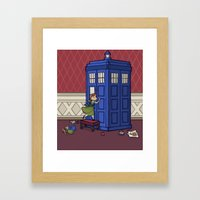 Who wants to Build a Snowman? Framed Art Print