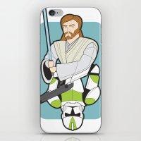 Obi-wan and Clone Trooper iPhone & iPod Skin